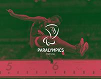 Paralympics Portugal - Logotype