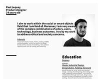 CV 2017_Paul Lequay