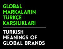 Global markaların Türkçe karşılıkları