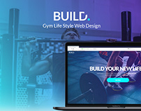 Build. Gym Web Design