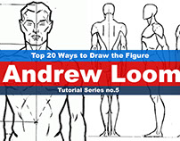 The new series, Top 20 ways to draw the figure Chapter