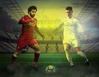 Mo salah vs Ronaldo