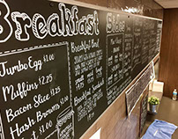 Chalkbaord Menu Designs