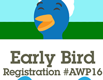 Berdy Illustrations for 2016 Early Bird Registration