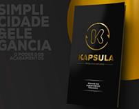 Folder institucional - Kapsula
