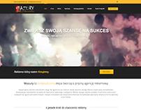 """Agencja Fotograficnzo-Reklamowa """"Mazury"""" website"""