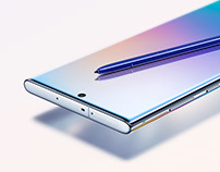 Samsung Galaxy Note10 | 10+ global website
