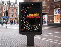Magicians Carnival poster design