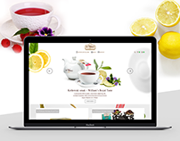 Online Shop Redesign for SirWilliamsTea