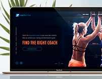 Coachactive Website Design