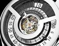Inversion Principle Tourbillon Watch - Fonderie 47