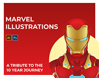 MARVEL CHARACTER ILLUSTRATIONS