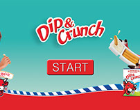 Lavache Quirit Dip & Crunch Game