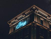 Neon light romance