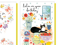 The Art Group 'Happy Go Lucky' card range