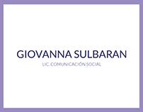CV Giovanna Sulbarán