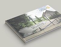'The Lost Village of Dode' Wedding Brochure