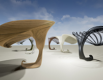 FUTURISTIC-SURREALISTIC INTELLIGENT CHAIRS DESIGN
