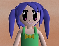 Pigtails Girl