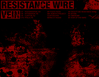 Tour Flyer: Resistance Wire/Vein