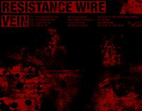 Tour Flyer: Resistance Wire/Vein