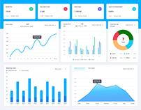 Dashboard & Web Application Design For CRM Portal