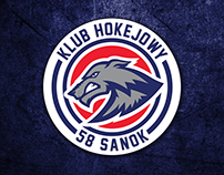 HK 58 SANOK - hockey club logo