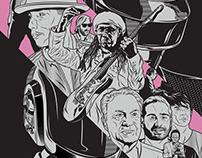 """Daft Punk """"RAM"""" Poster"""