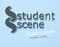 StudentScene logo design
