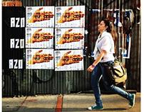 Poster Eurocine. Colombia