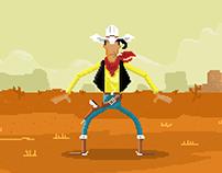 Pixel Art / Lucky Luke