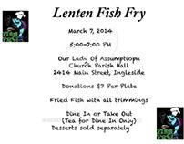 Lenten Fish Fry Flyer 2