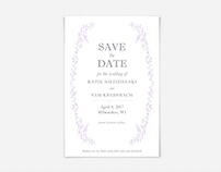 Save the Date: Katie + Sam