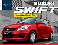 Anuncio de Prensa Suzuki Swift 2017
