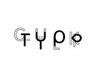 Contact - typographie