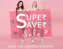 Huge Discounts Sale Promo Creative