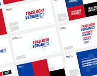 Brand identity for Traslochi Vergani