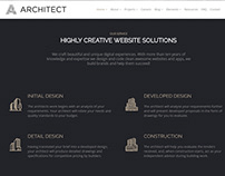 Features Section - Architect WordPress Theme