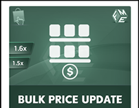 PrestaShop Bulk Price Update