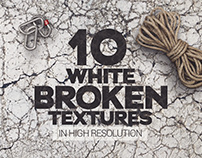 Broken White Rocks Textures x10