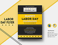 International Labor Day Flyer Template