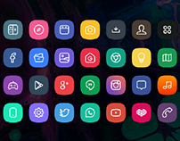 Squircle Icons Project