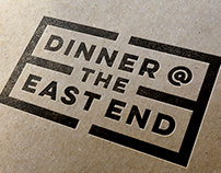 Dinner @ the East End Logo