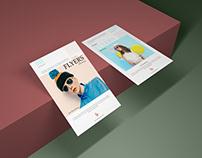 Free Prime Flyer Mockup PSD