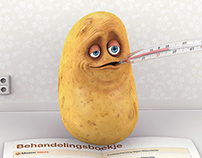 Syngenta Potato 3D illustration