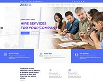 Zesto | Bootstrap4 Multipurpose Corporate Html Template