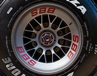Ferrari F1 2000 wheel shader