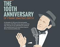 INFOGRAPHIC Frank Sinatra's 100th birthday