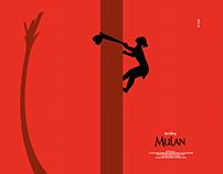 Disney's MULAN Poster Art
