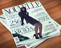 Nouvelle Magazine - Kapak tasarımı